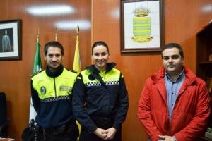 Bornos incorpora a la primera mujer Policía Local en la historia del municipio. Bornos-Cádiz