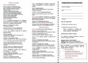 XIV CONGRESO JUSTICIA PENAL HUELVA 2