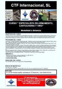 curso ctf especialista en cartucheria y tiro