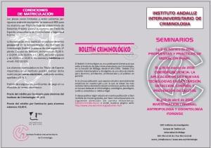 SEMINARIO MALAGA 1 CRIMINOLOGIA