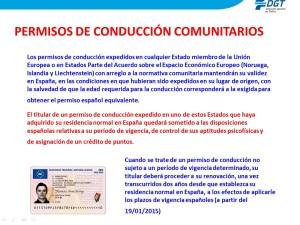 PERMISOS CONDUCIR COMUNITARIOS DGT 1