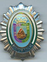 Placa Policia Local Malaga