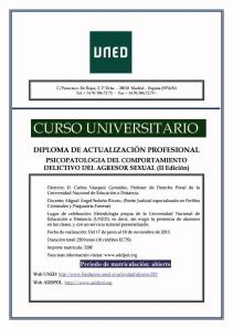 curso uned psicopatologia agresor sexual