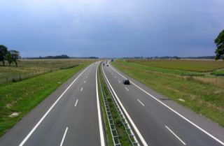 Via interurbana autopista