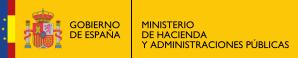 LOGO MINISTERIO HACIENDA Y ADM PUBLICAS