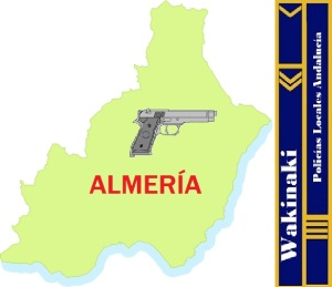 MAPA NOTICIAS POLICIA LOCAL ALMERIA