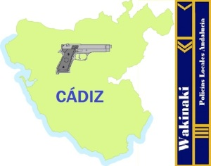 MAPA NOTICIAS POLICIA LOCAL CADIZ