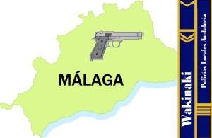 MAPA NOTICIAS POLICIA LOCAL MALAGA