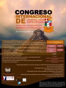 Congreso Internacional de Criminologías Específicas 2014