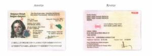 modelo tarjeta diplomacia belgica