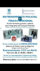 entrenamiento policial algeciras