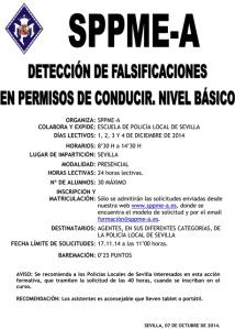 Curso detección de falsificaciones
