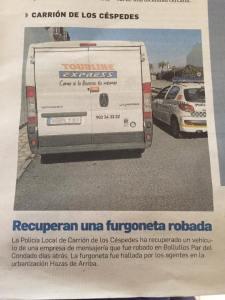 carrion furgoneta